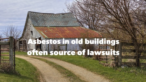 Asbestos in buildling Dutch Lawyer